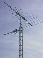home TV antenna tower
