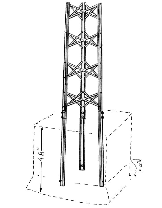 Self Supporting TV Antenna Towers By DelhiTACO